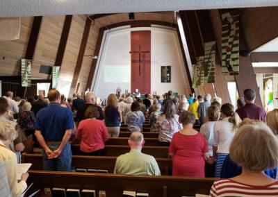 Zion Lutheran Church Service