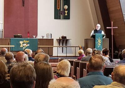 Pastor - Zion Lutheran Church Service