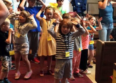 Zion Lutheran Church - Children Singing/Dancing