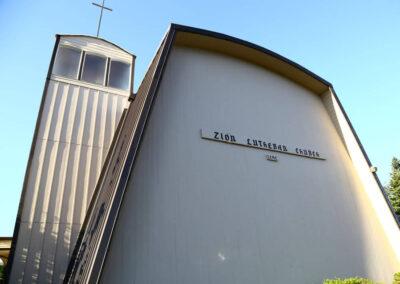 Zion Lutheran Church Exterior Building