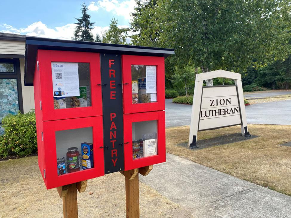 Zion Lutheran Church - free pantry